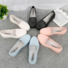 Womens Fall Casual Loafers Nurse Work Shoes Non-slip Solid Color Wearproof Flats