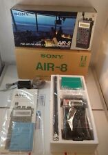 Sony Air-8 PSB AIR FM AM PLL Synthesized Hand Held Receiver Air Band with Extras
