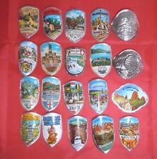 Set of 20 German / European walking stick badges - stocknagel - hiking pin - #10