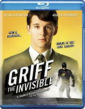 NEW BLU RAY // GRIFF THE INVISIBLE - - Ryan Kwanten, ( TRUE BLOOD )