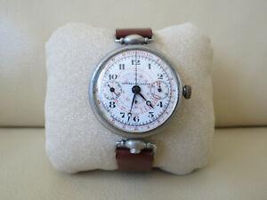Universal Geneve Monopusher Monopulsante Chronograph 39mm Vintage 1920`s Watch