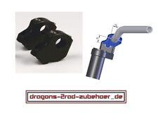 """LSL RiseUp Lenkererhöhung +25mm / Versatz 16mm für 22mm 7/8"""" Klemmböcke Riser"""