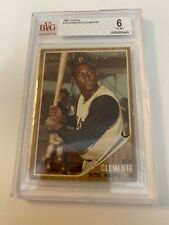 Roberto Clemente 1962 Topps #10 Card Graded 6 BVG! PIRATES LEGEND HOF!!!