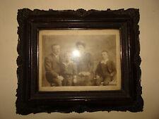 Cadre ancien en bois et stuc patiné.XIX°.Dessin,photo,aquarelle,tableau,huile.