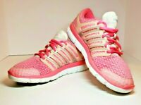 Adidas ClimaCool Sneakers Womens Size 9.5 Pink Mesh Running Shoes