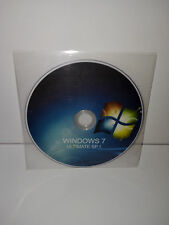 DVD + PRODUCT KEY *RETAIL* - WINDOWS 7 ULTIMATE SP.1 - 64 BIT FULL - ITALIANO