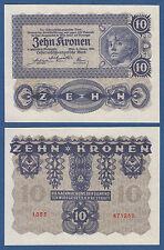Austria/Austria 10 corone 2.1.1922 UNC p.75