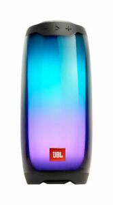 JBL Pulse 4 Waterproof Portable Bluetooth Speaker with Light Show (Black). Autho