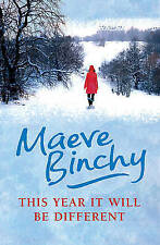 """NEW"" This Year It Will Be Different, Binchy, Maeve, Book"