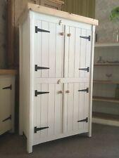 Pine Freestanding Kitchen Handmade Cupboard Unit Pantry Larder Linen Storage