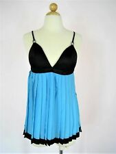 Camisole Top Felina Accordion Pleated Baby Doll Camisole NEW 36D NWT $78