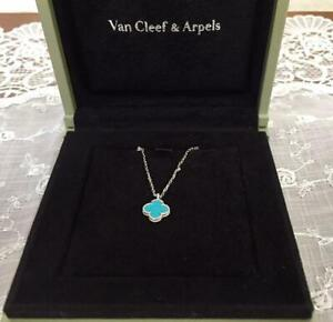 Van Cleef & Arpels Sweet Alhambra Turquoise Mint Condition