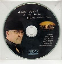 (GU100) Alan West & His Band, Digital Promo Pack - DJ CD