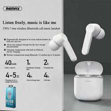 REMAX TWS-7 Bluetooth 5.0 Wireless Headphones With Charging box Headset Earphone