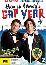 Hamish & Andy's Euro Gap Year (DVD, 2012, 2-Disc Set)  New, ExRetail Stock, D80