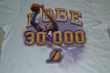 Kobe Bryant LA Lakers 30,000 Points Milestone Shirt Men's Size Large New w/Tag!