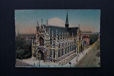 Brussels/ Bruxelles, Belgium, Notre Dame Church, Vintage Picture Postcard