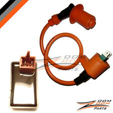 CDI Box Racing Ignition Coil Go Kart Howhit Baja ATV 50cc 70cc 90cc 110cc 125cc