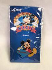 MISSOURI Disney State Pin 12 Months Of Magic w/ Mickey Mouse Pinback