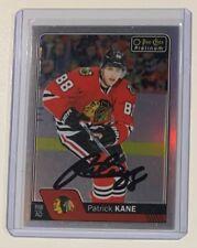Patrick Kane 2016-17 O-Pee-Chee Platinum Rainbow Autographed Hockey Card Auto