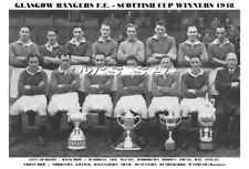 GLASGOW RANGERS F.C. TEAM PRINT 1948 (SCOTTISH CUP WINNERS)