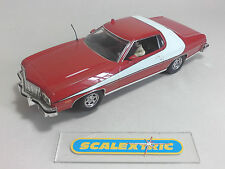 Scalextric Hornby Ford Gran Torino 1976 Starsky & Hutch 'C2553 (como Nuevo) M.D.
