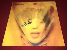 THE ROLLING STONES SIGNED GOATS HEAD SOUP LP ALBUM VINYL KEITH RICHARDS PROOF