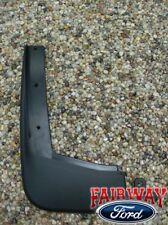 09 10 11 12 Flex OEM Genuine Ford Molded Splash Guards Mud Flaps Set of 2 FRONTS