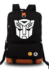 Transformers Backpack School Bag Children Student Boys Girls Luminous Design