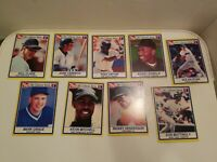 1991 Post Collector's Series - LOT OF 9, Canseco Gwynn Nolan Ryan Mattingly