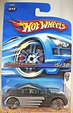 2006 Hot Wheels #15 First Editions 15/38 UNOBTAINIUM I Black Variant w/Bling Sp