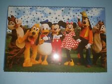 Disney Parks 10 Deluxe Postcards Mickey Mouse & Friends Cast Characters - NEW