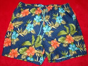 Tommy Bahama Relax Men's Size XL Floral Print Lined Shorts Swim Trunks
