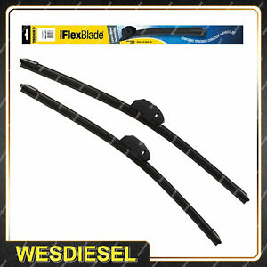 Pair Tridon Frameless Wiper Blades fit Lexus IS250 GSE20R IS250C GSE20