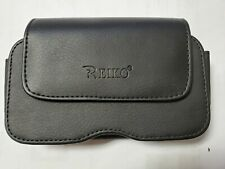 "Reiko Horizontal Black Smart Phone Case, Clip or Belt Loop, 5 1/2"" X 1"""