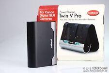 HÄHNEL PowerStation Twin V Pro für Canon DSLRs (nicht kompatibel mit LP-E6)