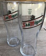 San Miguel Pint glass in excellent condition