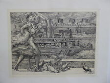 Reginald Marsh, ''Battery'' 1938 etching