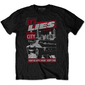 Guns N' Roses 'Move To The City' (Black) T-Shirt - NEW & OFFICIAL!
