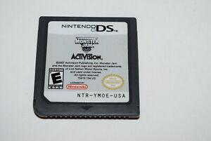 Monster Jam Nintendo DS Video Game Cart Only