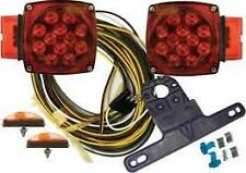 """L.E.D. SUBMERSIBLE MARINE TRAILER LIGHT KIT (FOR TRAILERS OVER 80"""" WIDE)"""
