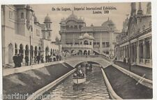 Imperial International Exhibition, On The Lagoon Postcard, B486