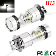 2x H3 LED Fog Light 100W Super Bright CREE Chips Car Driving Bulb White 12/24V M