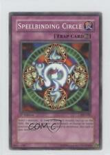2004 Yu-Gi-Oh! Starter Deck Yugi Evolution #SYE-045 Spellbinding Circle Card 3c7