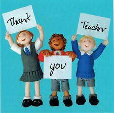 THANK YOU TEACHER CARD - From The One Lump or Two Collection