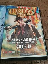 ORIGINAL BIOSHOCK INFINITE PLAYSTATION PS3 XBOX 360 PROMO POSTER A2 SIZE