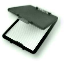 A4 PLASTIC CLIPBOARD PAPER STORAGE FILING BOX FILE