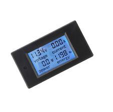 DC 20a 100v LCD Digital Volt Voltage Watt Current Power Meter Ammeter Voltmeter.