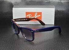 RAY BAN RB2140 12783F Wayfarer Blue Red Havana Clear Blue 50mm Unisex Sunglasses