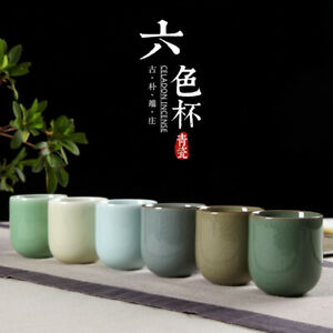 on sales 180ml lover cup porcelain cup for tea/coffee longquan celadon big cups